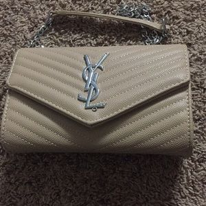 Quilted YSL bag